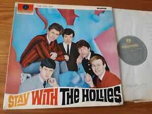 THE HOLLIES : Stay With  UK  LP PARLOPHONE PMC 1220  ORIGINAL
