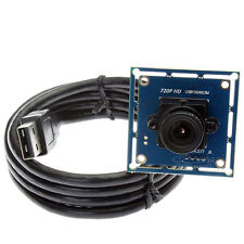 1MP CMOS OV9712 720P USB Camera Module Board 6mm Lens For Win XP/Vista/Win7/Win8