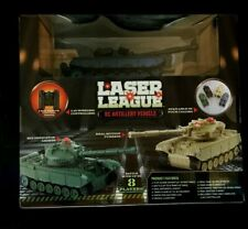 Laser League RC Artillery Vehicle SOUND & MOTION  BLACK Tank Vehicle New in Box