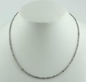 Labradorite Necklace Precious Stone Fein-Geschliffen With Verlängerungkette