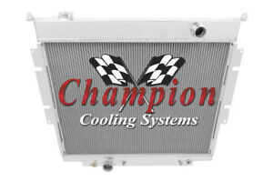 3 Row Perf Champion Radiator for 1983 - 1994 Ford F-Series Pickups V8 Engine