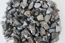 Silver Noble Shungite Rough Stones 1oz Russia Healing Crystal Protection Purify