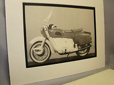 1964 Ariel Leader  Motorcycle Exhibit From National Motorcycle Museum