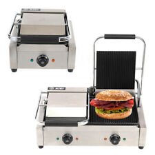 More details for commercial electri panini press sandwich waffle maker iron toaster grill machine