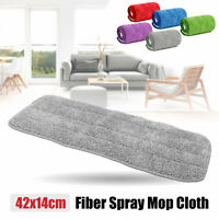 Replacement Microfiber Flat Mop Head Refill Floor Cleaning Pads Absorbent Cloth