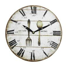 Wooden Art Deco Style Wall Clocks