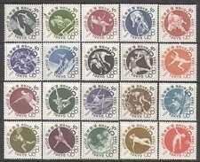 Japan 1961-1964 Olympics/Horse/Football/Sailing/Judo/Sports/Games 20v set n24640