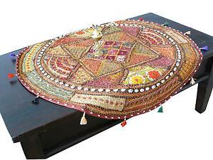 Tischläufer Wandteppich Wandbehang Tisch-decke Patchwork Indien Orient Goa Yoga