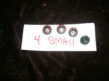 4 small HOTWHEELS RED LINE PARTS SET OF 4 RED LINE REPO WHEELS SET OF 4 TOTAL