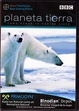 BBC Planeta tierra Como Nunca Lo Habias Visto: El Futuro (DVD)  w/promos