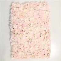 Pink and Cream Hydrangea Flower Wall Wedding Backdrop Party Decoration 40 x 60cm