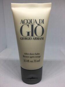 Giorgio Armani Acqua Di Gio After Shave Balm Men 2.5 oz / 75 ml New Cream