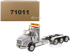 INTERNATIONAL HX620 DAY CAB TRIDEM TRACTOR GREY 1/50 BY DIECAST MASTERS 71011
