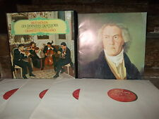 BEETHOVEN: Late string quartets, n°12-16 + Great Fugue   Quartetto Italiano / Ph