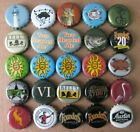 25 DIFF MICHIGAN BREWS MICRO CRAFT CURRENT/OBSOLETE BEER BOTTLE CAPS #1