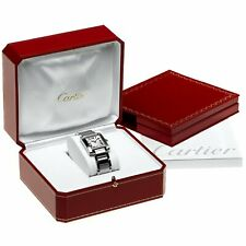 Genuine Cartier Red Watch Presentation Box Luxury Case Outer VIP Gift COWA0043 ♚