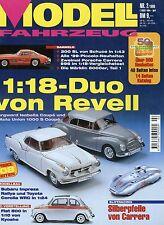 Zeitschrift Modell Fahrzeug 2 1999 Auburn 851 Borgward Isabella Renault 4 L DKW