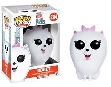 "THE SECRET LIFE OF PETS - GIDGET 3.75"" POP MOVIES VINYL FIGURE FUNKO 294 NEW"