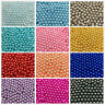 100%NEW 15 Color Plastic Bead Pearl Round Spacer Loose Beads 4/6/8/10mm
