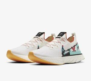 Nike REACT INFINITY RUN FLYKNIT AS A.I.R. UK 5.5 EU 39 White CV9312 100