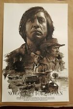 Krzysztof Domaradzki 'No Country For Old Men' Poster Print Commission Krabz