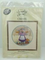 Vtg Crewel Embroidery Kit Oven Fresh by Lee Dubin Something Special #40217 USA