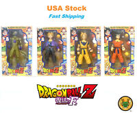 Dragon Ball Z Figures Son Goku Super Saiyan Frieza Piccolo Trunks Collection10''