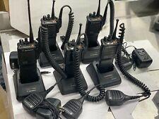 Set Of 5 Motorola Mts 2000 Flashport Radio H01ucd6pw1bn Mts2000 Model I 800 Mhz