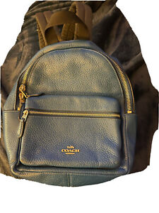 Blue Coach Backpack Purse
