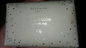 Beekman 1802 SUMMER GLOW Goat Milk Soap, 3.5 oz PALM SIZED Bar *NEW*
