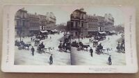 Photographic Stereo Card, Royal Centre Belfast Ireland c1897.