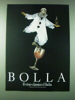 1989 Bolla Wine Ad - Bolla il vino classico d'Italia