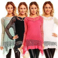 Hüftlang Damenblusen,-Tops & -Shirts mit Asymmetrisch für Party
