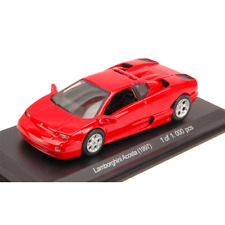 LAMBORGHINI ACOSTA 1997 RED 1:43 Whitebox Auto Stradali Die Cast Modellino
