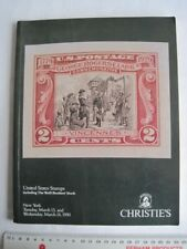 Christies Catalogue from 1990 - United States Stamps Auction Guide