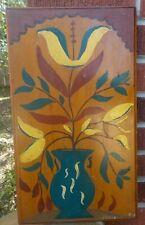 Vintage Pennsylvsnia DUTCH Flower ' Peace' Folk Art Lstd. Richard Hoptner c1951