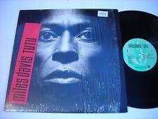 SHRINK Miles Davis Tutu 1986 LP VG++