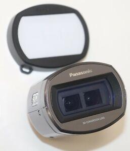 Panasonic VW-CLT2 3D Conversion Lens Full HD metallic gray Camcorder attachment