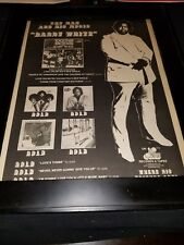 Barry White Together Brothers Rare Original Promo Poster Ad Framed!