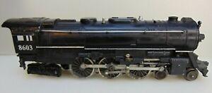 Lionel C&O #-8603 4-6-4 Hudson Steam Locomotive ( No Tender )