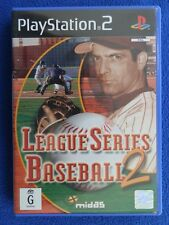 League Series Baseball 2 - PS2 - PlayStation 2 - Good Condition Including Manual