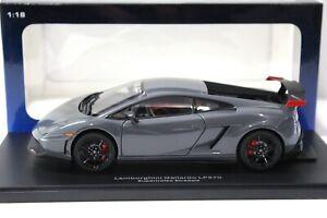 1:18 AUTOart Lamborghini Gallardo LP570 Supertrofeo grey
