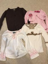 Girls Size 4 Shirts Long Sleeve Pick One! Children's Place Pumpkin Patch Barbie