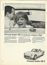 Triumph British Automobile Advertising