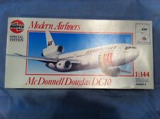 AIRFIX MCDONNELL DOUGLAS DC10 1:144 SCALE PLASTIC MODEL SAS OR AMERICAN AIRLINES