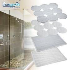 Large Square In Shower Mat Bath White Non Anti Mould Slip Matting Kids Corner