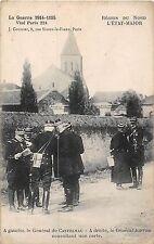 POSTCARD  MILITARY   WWI  FRANCE  Generals  De  Castelnau  &  Joffre