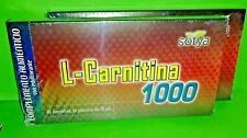 L-Carnitina Lcarnitina 1000 mg 2x10 Ampollas SOTYA Quemagrasas Energia