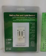 Hunter 27182 Ceiling Fan & Light Control  3 Fan Speeds 120 Volts New In Pack