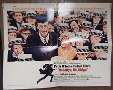 Goodbye Mr Chips 1969 Original 22x28 1/2 Sheet Single Sided Folded Movie Poster